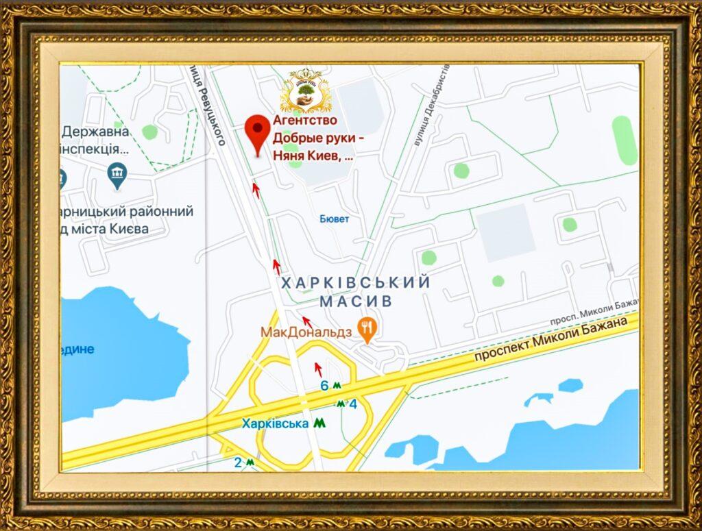 агентство добрые руки на карте
